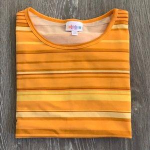 LuLaRoe Irma Tunic Oversized Loose Fit Shirt sz XS